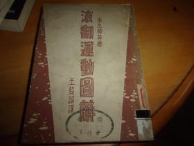 滚翻运动图解===--1951年3版--馆藏书,品以图为准