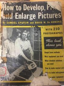 民国英文原版摄影手册(how to develop,print and enlarge pictures)