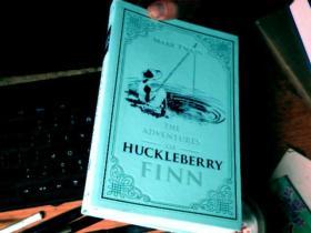 THE ADVENTURES OF HUCKLEBERRY FINN  磨砂皮软精装      C7