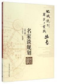 地域规划理论与实践丛书:名家谈规划(第二版)