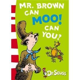 正版包邮n1/Mr.Brown Can Moo! Can You? Blue Back Book/9780007169917/M1-8