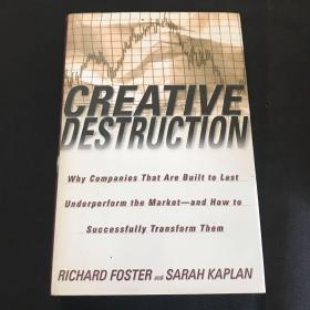 英文原版 CREATIVE DESTRUCTION