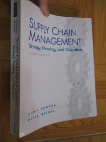 Supply Chain Management: Strategy, Planning, and Operation (Fourth edition)    【详见图】