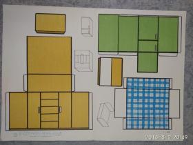 托儿所幼儿园桌面教具   家具