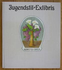 《新艺术运动藏书票集》20世纪早期比亚兹莱新艺术风格老书票精选大量仕女藏书票