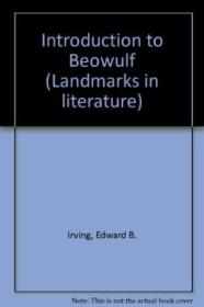 Introduction To  beowulf  (landmarks In Literature)