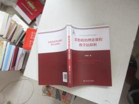 思想政治理论课程教学探析 正版
