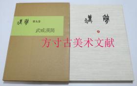 书道资料集成 汉简 第9卷  武威汉简