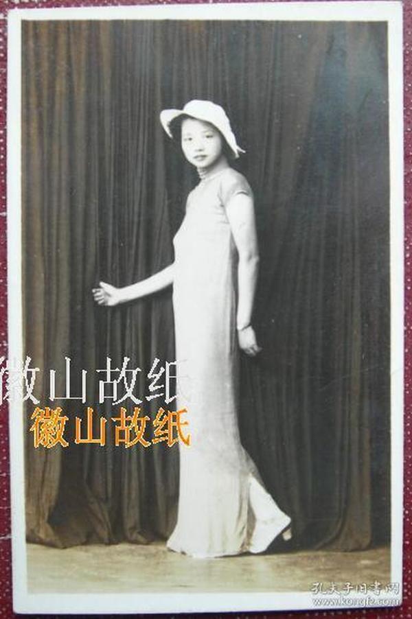 民国老照片:民国旗袍美女,别样滴美《陌上》