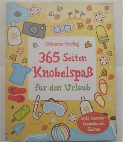 平装德语 365 Seiten Knobelspaß für den Urlaub  365页假期的乐趣