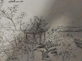 九华山景点,东西亭.