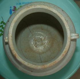 宋代   益阳    羊舞岭窑    青白釉瓷罐  [高11.4m径12.2cm]