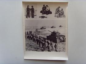 老照片:【※1965年,步兵坦克兵联合训练※】