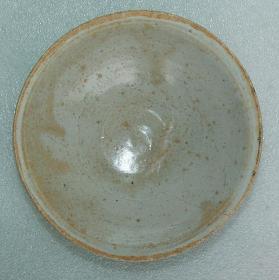 宋代   益阳    羊舞岭窑    青白釉碗  [高4.4cm径14.2cm]