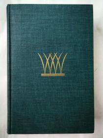 1936年 惠特曼《草叶集》肯特插图百余幅 湖畔印刷厂出品 遗产和Nonesuch联合出版 书顶刷蓝