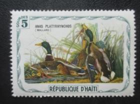 专题邮票--鸟类--绿头鸭【免邮费看店内说明】