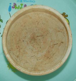 元代  益阳  羊舞岭窑  少见的  白釉  香炉  [高6.7cm径10.5cm]