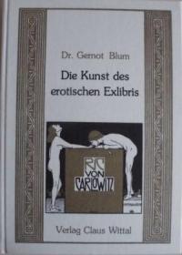 藏书票Die Kunst des erotischen Exlibris