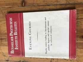2284:《rensselaer polytechnig lnstitute bulletin  evening courses1946--1947》伦塞勒理工学院公报 晚间课程