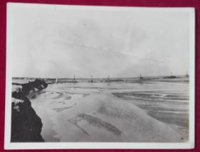 民国港口照片一张【筑港工程与航道治理专家刘峻峰1942年拍摄】12