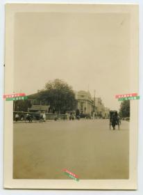 民国湖北武汉汉口中山路街景老照片
