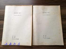 诗人牛波 1987年签赠自印诗集《牛波诗选 --1985至1987》上下卷全两册 打字油印本 附水墨画作一幅并钤印 张士杰旧藏 保真包递 S015
