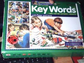 KeyWords(7-12级)快乐瓢虫双语童书18册全 加阅读指导手册 及200关键词闪卡  书九五品  外盒 九品左右          厨房台
