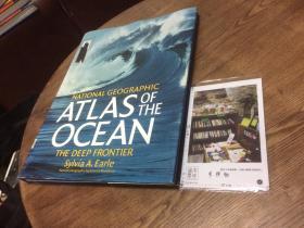 英文原版教材 national geographic atlas of the ocean  国家地理 海洋地图集 【存于溪木素年书店】