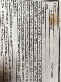 水产学  四卷   (日)竹中邦香撰   山本正义译