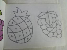 蒙纸学画 儿童绘画入门 涂色 小宝宝学画 启蒙绘