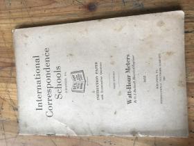 2285:1922年《INRERNATIONAL CORRESPONDENCE SCHOOIS INSTRUCTION PAPER WATT-HOUR METERS》国际函授学校试题指导  电能表