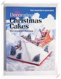 DIY手工制作蛋糕食谱 Decorating Christmas Cakes 样板房装饰陈列 外文真书