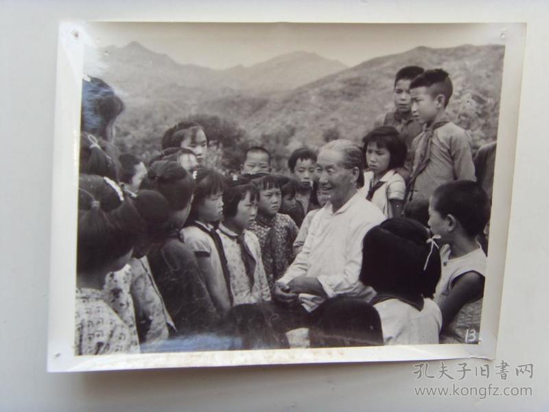 """老照片:【※1966年,河北平山县,""""子弟兵母亲""""戎冠秀※】"""