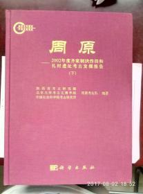 正版布面精装   周原-2002年度齐家制玦作坊和礼村遗址考古发掘报告