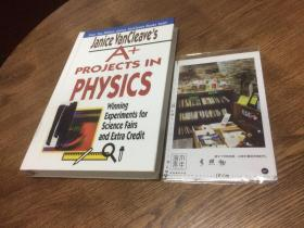 英文原版教材 A+ Projects in Physics  : winning experiments for Science Fairs and extra credit 【存于溪木素年书店】