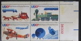 美国邮票------美国邮政两百周年
