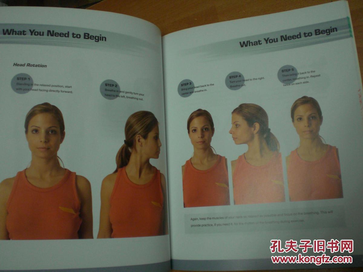【图】大星表情书:PilatesforBeginners伸展操派英文微信原版包图片
