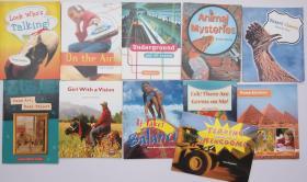 儿童英文知识读本 地铁 地球 平衡 动物 世界等 一套11本