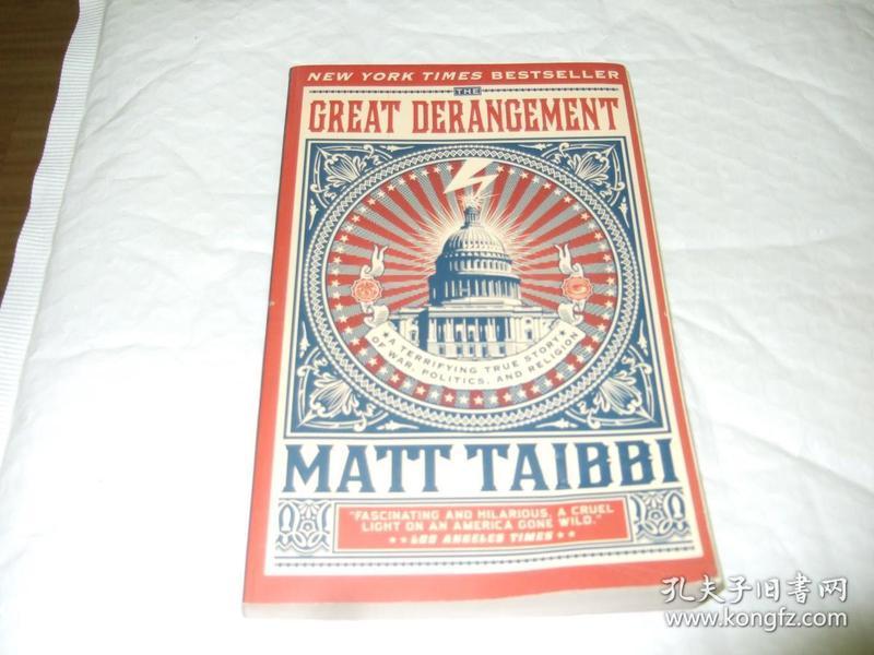The Great Derangement A Terrifying True Story of War, Politics, and Religion 伟大的破坏战争,政治和宗教的可怕的真实故事
