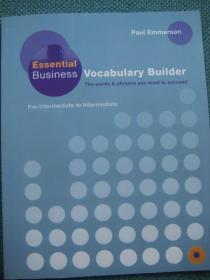 Essential Business Vocabulary Builder: Students Book Pack British English