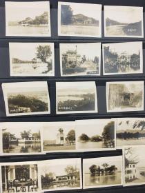 【照片珍藏】民国30年代初杭州风光建筑老照片_17张合售