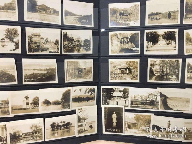 【照片珍藏】民国30年代初杭州风光建筑老照片_34张合售