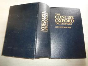 THE CONCISE OXFORD DICTIONARY NEW EDITION 1982