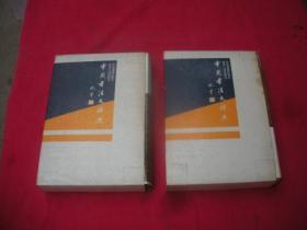 中国书法大辞典 上下册(有书函) 品相极佳。