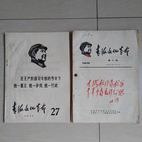 青海文化革命(第27丶6丶21、22期)四期合售