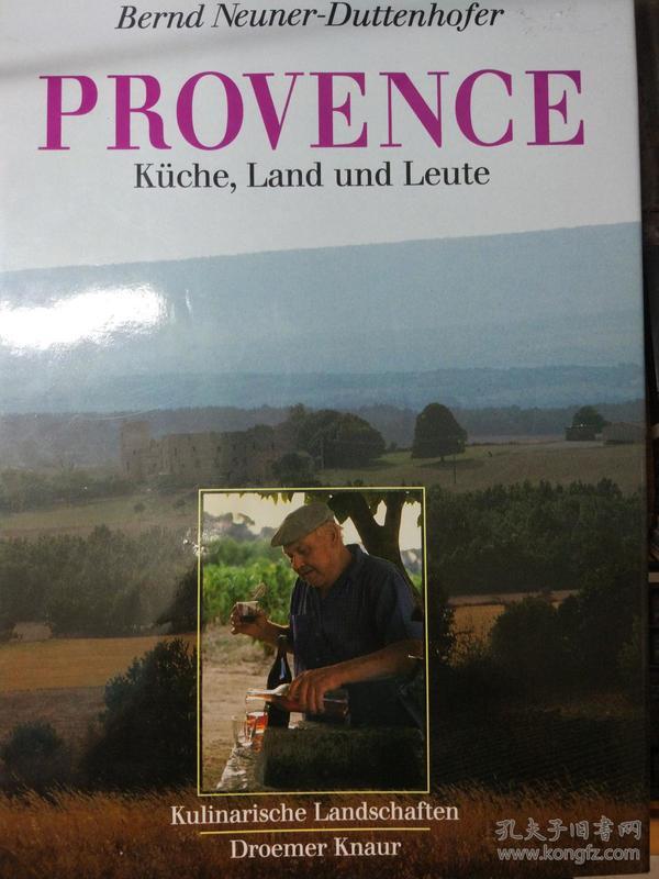 provence KUCHE,  LAND UND LEUTE 2000