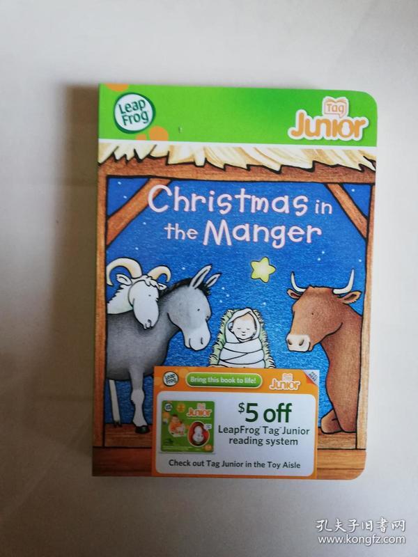 Christmasin the manger