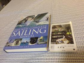 英文原版 new complete Sailing Manual        DK 新的完整帆船手册     【存于溪木素年书店】