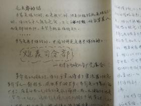 【文革精品大字报布告通告】天津市合成化学厂 炮轰司令部  大8开2张  见图