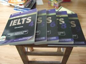IELTS4,5,6,8,9 五册合售
